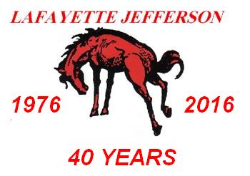 40th reunion of the Lafayette Jefferson high school Bronchos June 24 2016